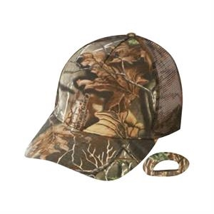 Superflauge Game (tm) By Lynch - Camo Cap With Camo Mesh Back