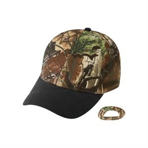 Superflauge Game (tm) By Lynch - Camo Cap With Oil Cloth Bill
