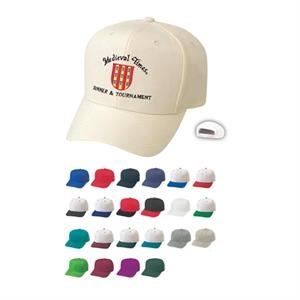 Pro Style Constructed Wool Blend Cap With Plastic Adjustable Snap