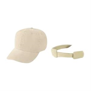 Low Crown Unconstructed Cotton Twill Washed Cap With 6 Panel Design