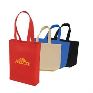 "Eco-friendly Collection - Non-woven Tote Bag, 15"" X 16"" X 4"""