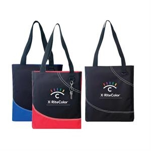 Poly Tote Bag With Heavy Vinyl Backing
