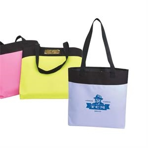 Neon Tote Bag With Heavy Vinyl Backing