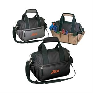 Polyester 600 Denier Deluxe Tool Duffel Bag With Heavy Vinyl Backing