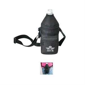 600 Denier Polyester 2 Ways Bottle Holder Pack With Heavy Vinyl Backing