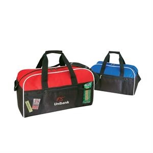 Polyester Duffel Bag With A Heavy Vinyl Backing