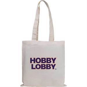 Magazine Economy - Silkscreen - Natural Quality Cotton Sheeting Tote Bag