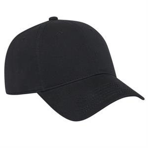 Ultra Soft Brushed Cotton Twill Six Panel Pro Style Low Fitting Cap. Blank