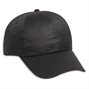 Six Panel Cotton Twill Pro Style Cap With Adjustable Hook And Loop. Blank