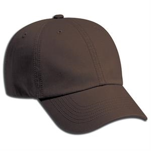 Low Fitting, Deluxe Garment Washed Cotton Twill Pro Style Six Panel Cap. Blank