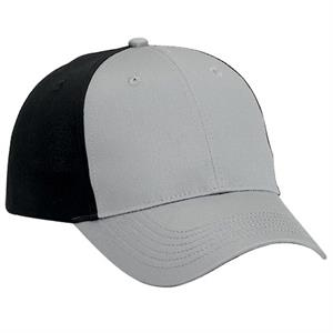 Cotton Twill Six Panel Low Profile Pro Style Cap. Blank