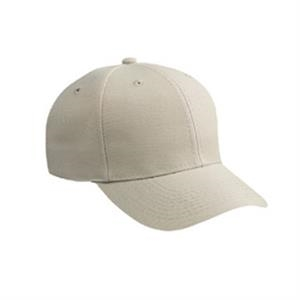 Low Fitting, Polyester/alternative Wool Blend Six Panel Pro Style Cap. Blank