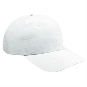 Polyester Microfiber Six Panel Pro Style Cap With Bendable Soft Visor. Blank