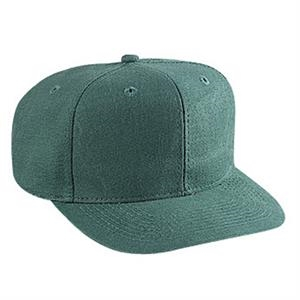 Pro Style Washed Brushed Heavy Cotton Canvas Solid Color Cap. Blank