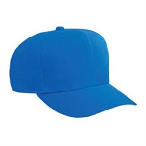Alternative 100% Polyester Wool Blend Six Panel Pro Style Cap. Blank