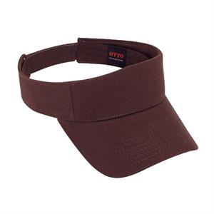 Ultra Soft Superior Brushed Cotton Twill Sun Visor. Blank