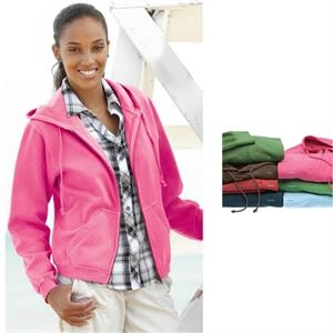 Weatherproof (r) - S- X L - Ladies Full-zip Hooded Sweatshirt. Blank Product