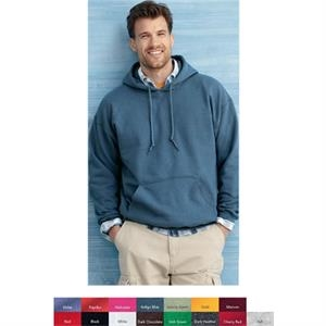 Gildan (r) - Colors 2 X L-3 X L - 8.0 Oz., 50% Polyester/50% Cotton Hooded Sweatshirt. Blank Product