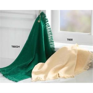 Anvil (r) Towels Plus (r) - Neutrals - Sheared Terry Fringed End Fingertip Towel Made Of 100% Cotton. Blank Product