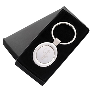 "Oval Key Tag, 3 1/8"" X 1 3/8"""