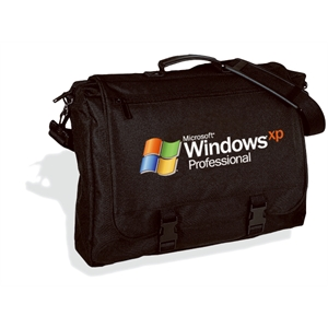Embroidery - All Purpose Brief Bag Made Of 600-denier Polyester With Organizer