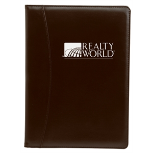 Silkscreen - Simulated Leather Padfolio