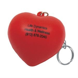 Valentine Heart Shape Stress Reliever Key Chain