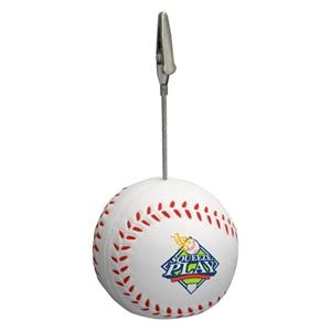 Baseball Shape Stress Reliever Memo Holder
