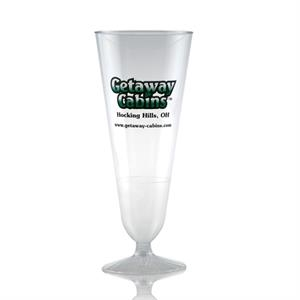 12 oz Clear Plastic Pilsner Cup