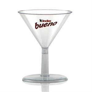 2 oz Clear Plastic Mini Martini Cup