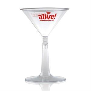 6 oz Clear Plastic Martini Cup