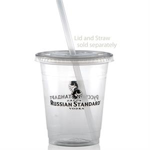 12/14 oz Soft Sided Clear Plastic Cup - Tradition
