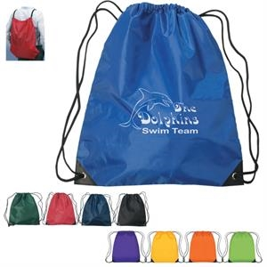 "Large Sports Pack With Nylon Drawstring, 17"" X 20"""