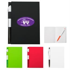 "4"" X 6"" Notebook With Matching Pen"