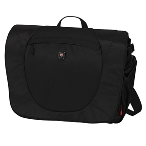 "Alpine (tm) Collection;vispa - Computer Messenger Bag With Large Main Storage Compartment. 16.5""w X 12""h X 6""d"
