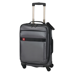 "Avolve (tm) Collection - Graphite - Comfort Grip, One-touch, Dual-trolley 22""/56 Cm Expandable Wheeled U.s. Carry-on"