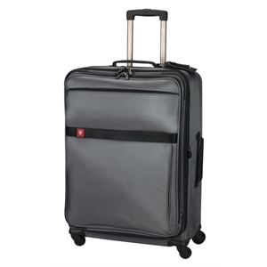 "Avolve (tm) Collection - Black - Comfort Grip, One-touch, Dual-trolley 29""/74 Cm Expandable Wheeled Upright Carry-on"