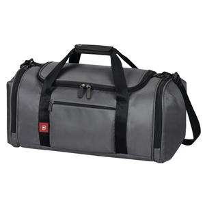 Avolve (tm) Collection - Black - Large Cargo Bag Has Extra Wide Opening Into Spacious Main Compartment