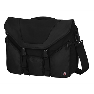 Alpine (tm) Collection;trek Messenger 17 - Horizontal Laptop Messenger Bag