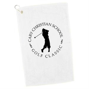 100% Cotton Hand Towel (optional Grommet/hook Available)