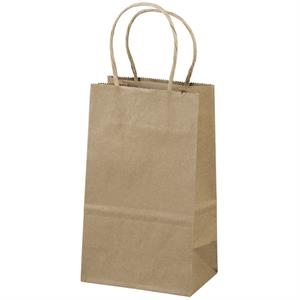 Eco-pup Shopper - Brown Kraft Shopping Bag Made From 100% Recycled Paper
