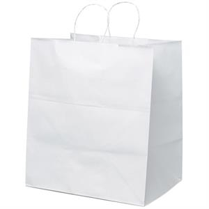 Brute Shopper - Paper Shopping Bag With Twisted Paper Handles And Serrated Cut Top