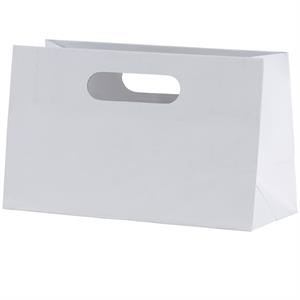 Mia Boutique Shopper - Matte Laminated Heavyweight Paper Shopping Bag With Fold-over Die Cut Handles