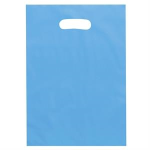 Aster Brite - Frosted Color Plastic Bags With Die Cut Handles. 2.5 Mil Thickness