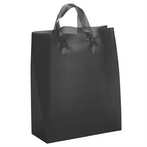 Hercules Brite Shoppers - Hi-density Frosted Color Plastic Bag With Matching Fused Loop Handles