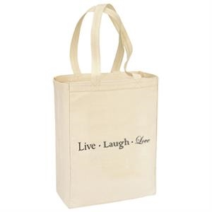 Basic Cotton Canvas Shopping Tote