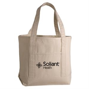 Deluxe Cotton Canvas Tote