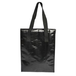 Elegant - Lunch Bag With Zippered Compartment And Foil Lining
