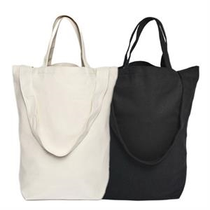 "Canvas Tote With 15"" Handle And Open Compartment"