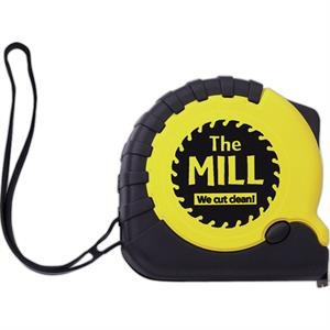 25' Pro Metal Tape Measure With Inch Scale And Locking Button